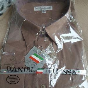 Other - Men's DANIEL ELLISSA 20 1/2 35/36 DRESS SHIRT NEW